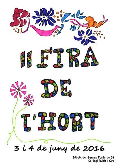 Carrutxa participa a la II Fira de l'Hort, la festa del barri d'Horts de Miró