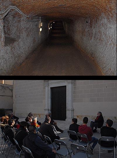 Foto Visita  al refugi antiaeri de la Canonja