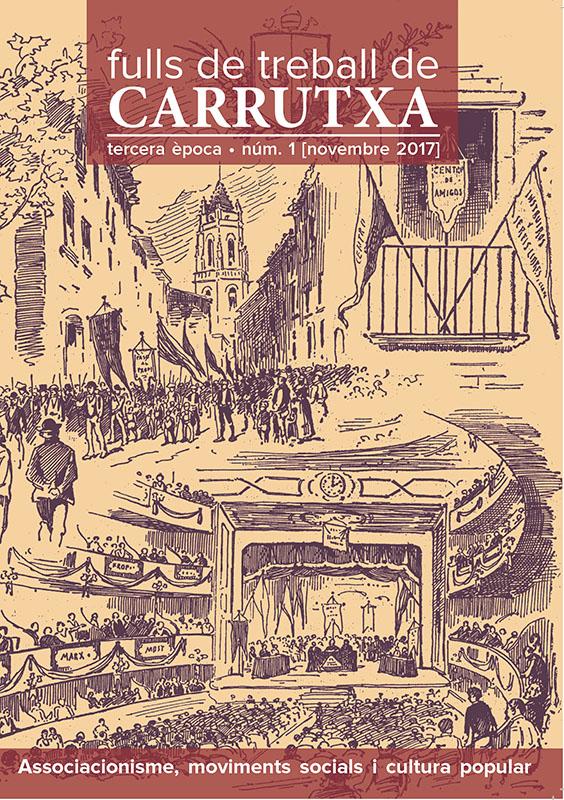 Fulls de treball. Carrutxa recupera la capçalera històrica de la seva revista.
