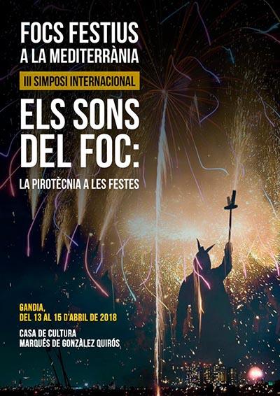 3r simposi sobre focs festius a la Mediterrània a Gandia