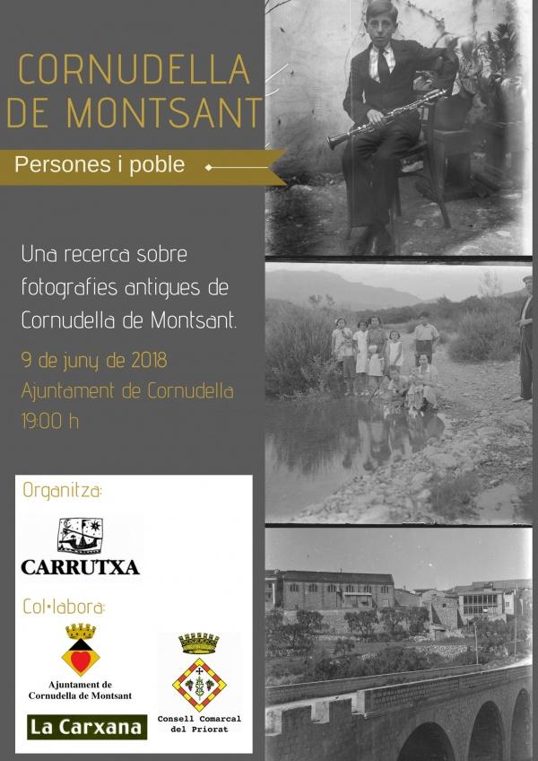 Foto Cornudella de Montsant: persones i poble