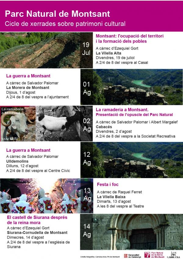 Foto Cicle de xerrades sobre el Patrimoni Cultural dels pobles de Montsant