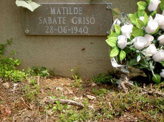 Foto Matilde Sabaté Grisó, una història per explicar