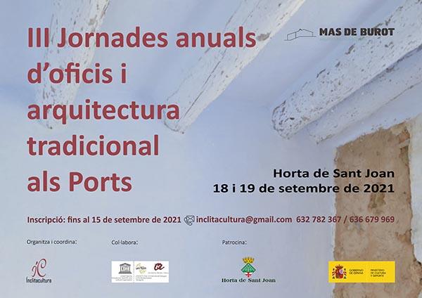 Foto III Jornades d'oficis i arquitectura tradicional als Ports