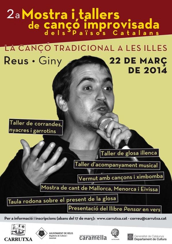 Foto Segona mostra i tallers de cançó improvisada dels Països Catalans
