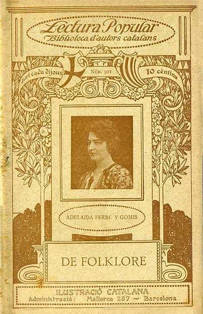 Foto Adelaida Ferré i Gomis i el folklore reusenc
