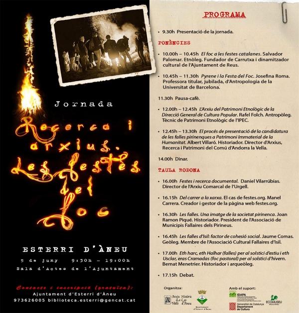 Jornada sobre les festes de foc a Esterri d'Àneu