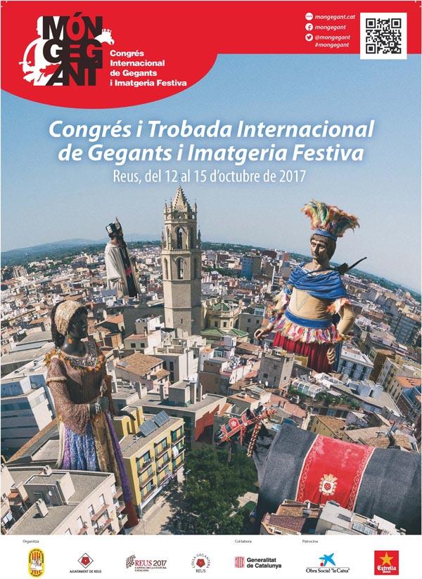 Congrés i trobada internacional de gegants a Reus