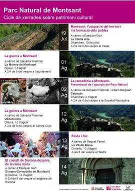 Cicle de xerrades sobre el Patrimoni Cultural dels pobles de Montsant